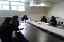 جلسه دفاعیه تحقیق پایانی